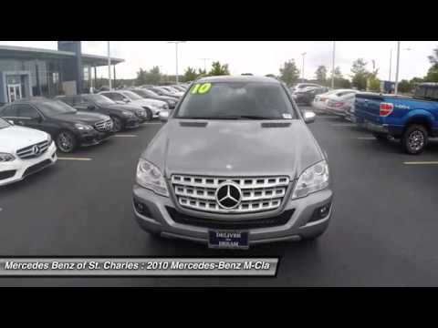 2010 mercedes benz m class ml350 4matic st charles il for Mercedes benz of st charles il