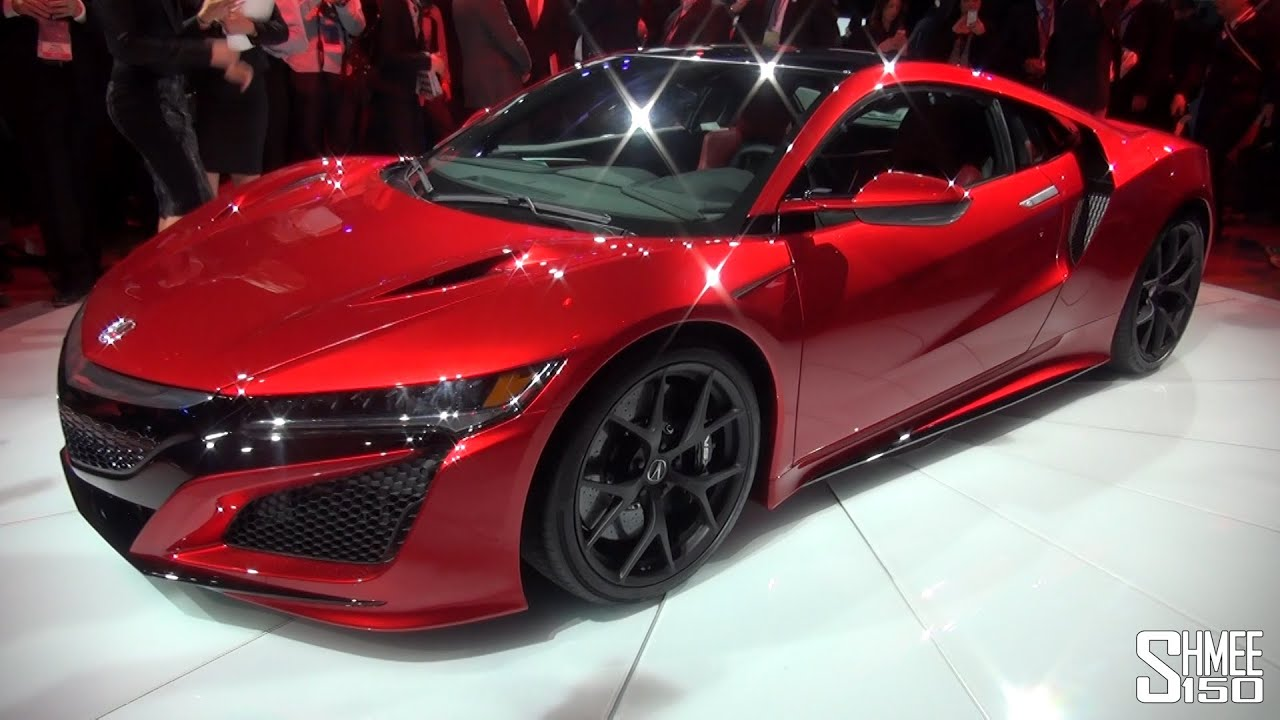 2017 Honda S2000 >> WORLD DEBUT: Honda NSX - NAIAS 2015 - YouTube