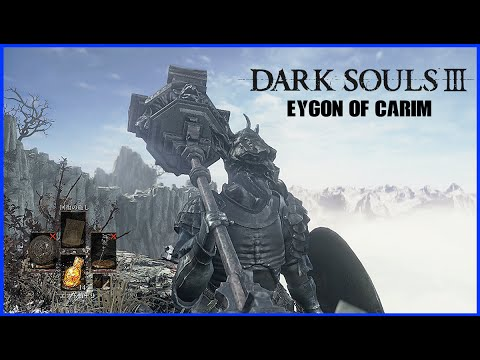 Dark Souls 3 BEST ARMOR IN THE GAME - How to get Eygon of Carims Armor and  Weapons