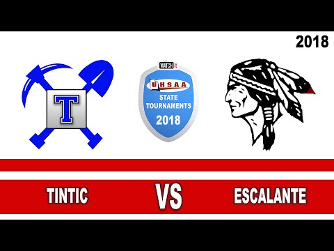1A Volleyball: Tintic vs Escalante High School UHSAA 2018 Utah State Tournament Consolation Round 1