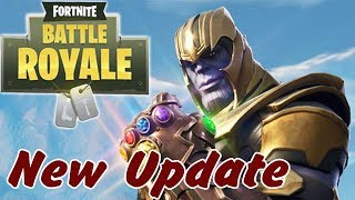 Avengers Infinity War Thanos Comes to Fortnite Battle Royale | New Update