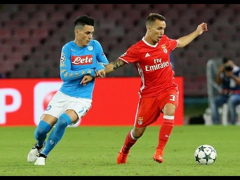 Alex Grimaldo vs Napoli HD Best Moments | Champions League