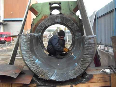 Řezání tlustého železa