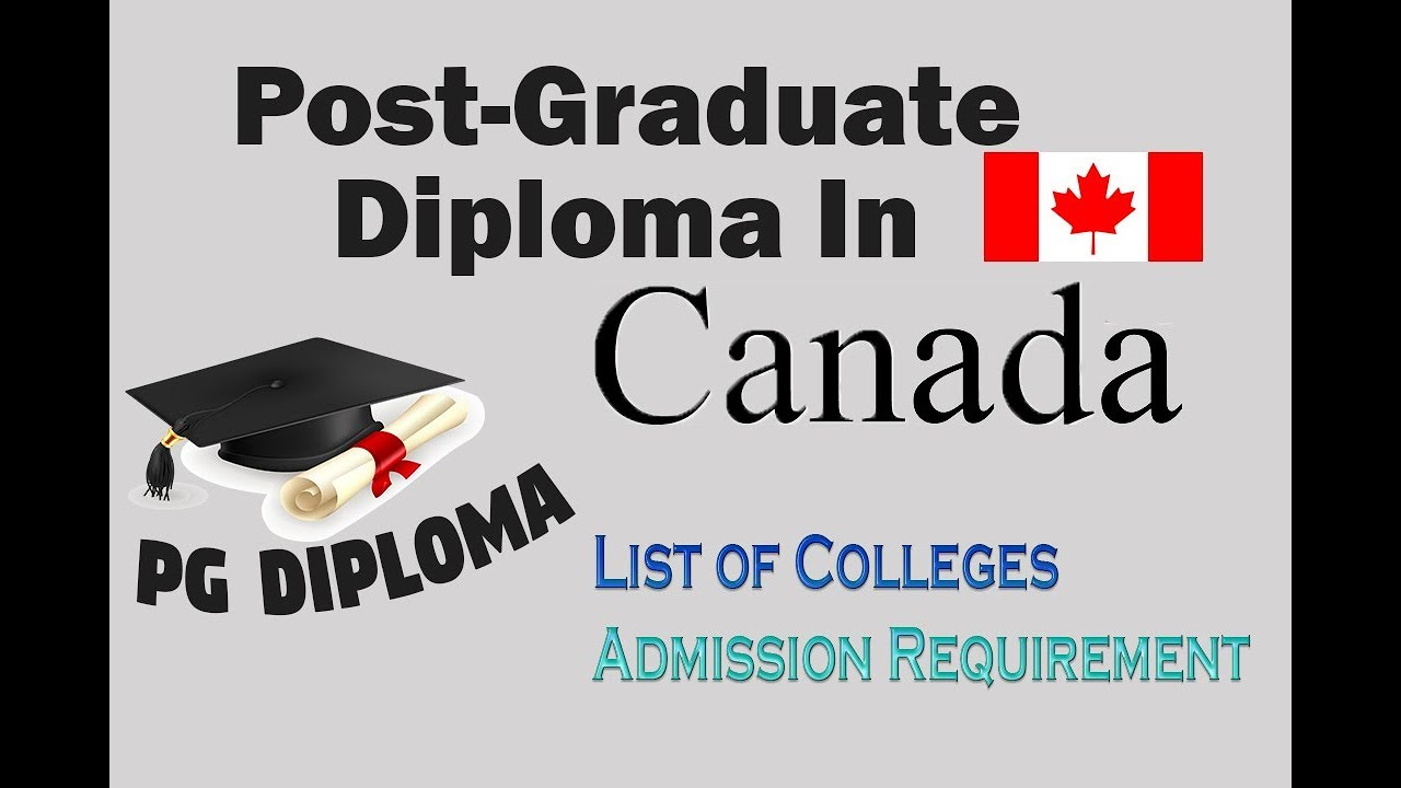 PG Diploma In Canada | Cheap Colleges | PG Diploma Courses In Canada -  YouTube