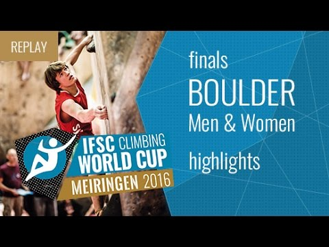 IFSC Boulder World Cup Meiringen Highlights