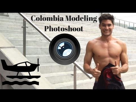 Colombia Modeling Photoshoot - Travel Log Ep. 12