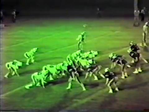 1984 Monroe Academy Mustangs at Barnesville Academy Warrirors football