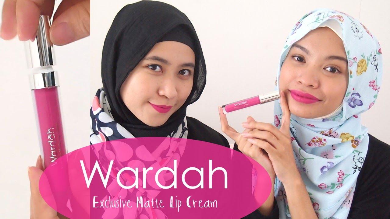 Wardah Exclusive Matte Lip Cream Localseries Youtube Lipcream