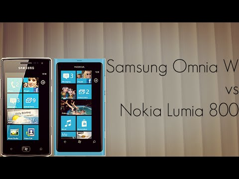 Samsung Omnia W vs Nokia Lumia 800 Mobiles Comparison - PhoneRadar