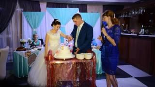 Разрезание свадебного торта  Свадьба Сергей и Ольга 23 07 2016