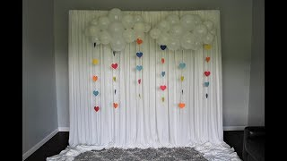 Balloon Clouds DIY Backdrop | How To