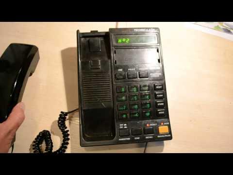 Первые телефоны с АОН