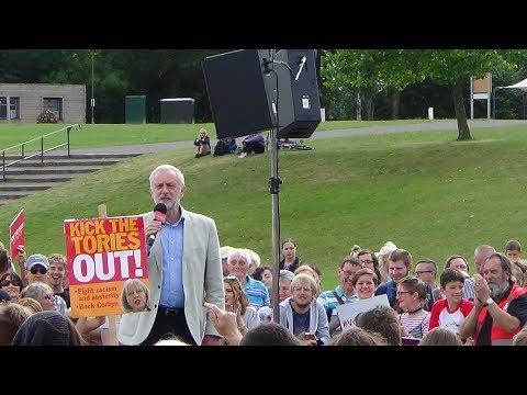Jeremy Corbyn Speech at Telford International Center