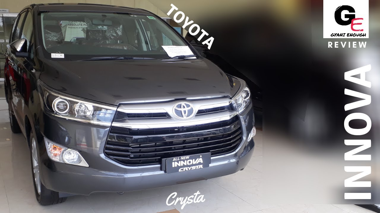All New Kijang Innova Spec Radiator Grand Avanza 2018 Toyota Crysta 2 8 Zx Automatic Detailed Review Price Features Specs