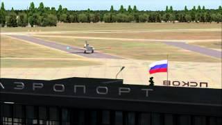 Pskov (ULOO). The X-Plane scenery.