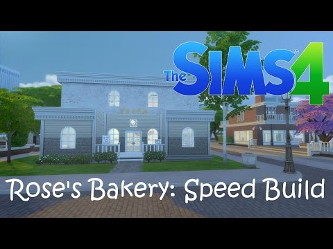 The Sims 4: Rose's Bakery Speed Build