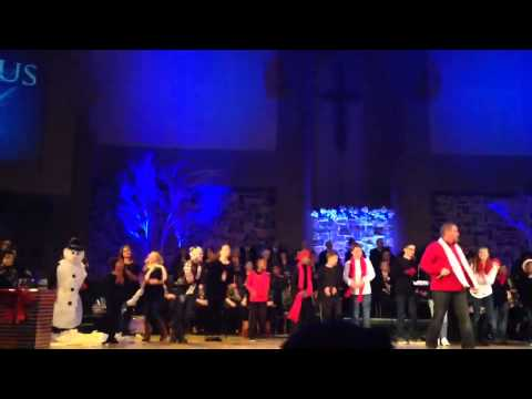 Hillcrest Kidz performing Light of Christmas (feat. tobyMac) by Owl City
