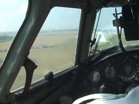 THE SIGHT & THE SOUND 3/6 : Flying Dandy AN-24 LZ-CBC inflight documentary from Sofia to Bratislava