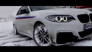 bmw f22 winter drift