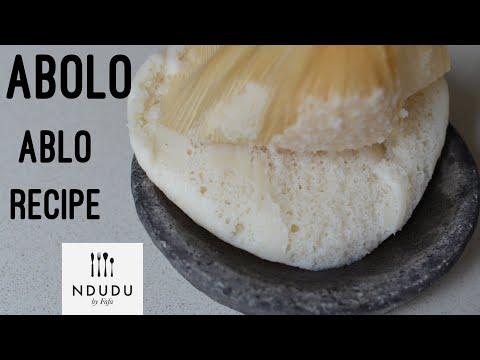ABOLO OR ABLO RECIPE (GLUTEN FREE)