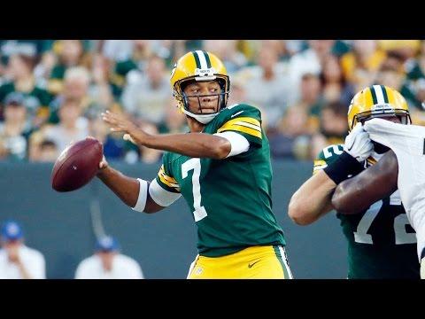 Brett Hundley highlights - 2015 NFL Preseason Week 4