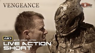"""Live Action CGI VFX Animated Short """"VENGEANCE"""" Sci-Fi Action Film By Julian Fitzpatrick"""