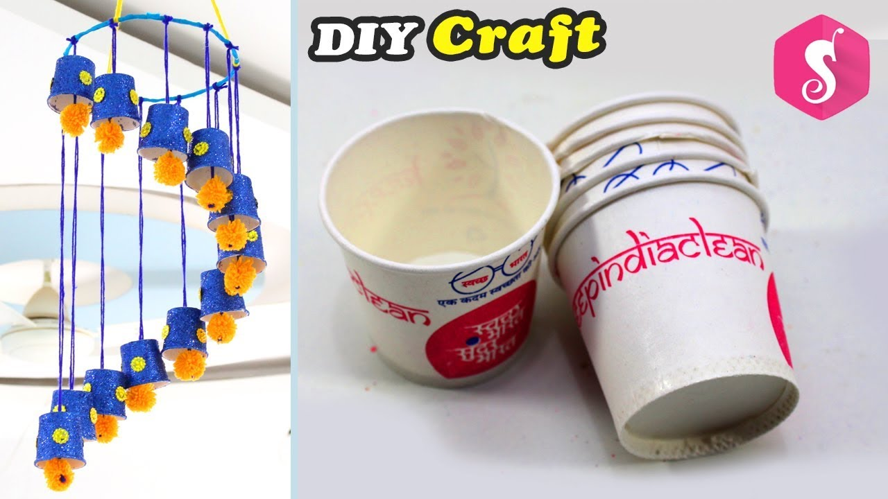 disposable tea cups reuse craft easy craft from wool best out of