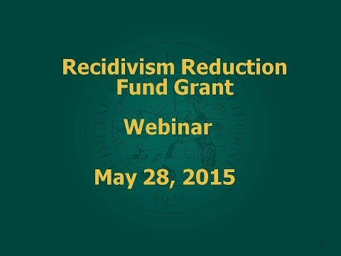 Recidivism Reduction Fund grantees (recipients with Collaborative Court programs)