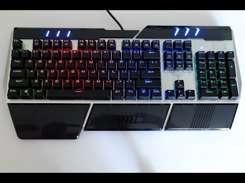 HAVIT HV-KB378L: beleuchtete, mechanische Tastatur - Unboxing, Testbericht, Review und Bewertung