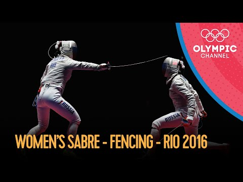 Fencing: Women's Sabre Individual | Rio 2016 Replays