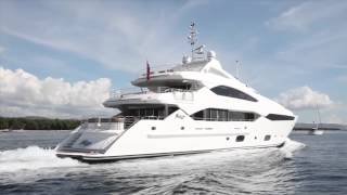 SUNSEEKER 40 METRE SUPER YACHT [HD]