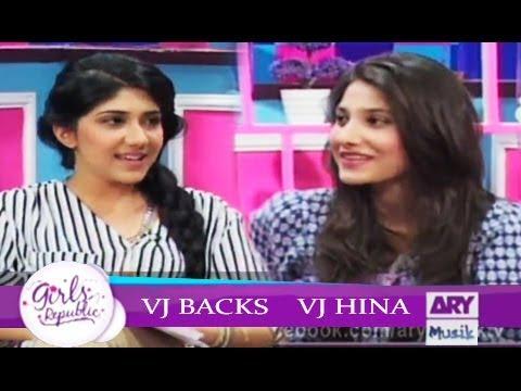 Girls Republic | VJ Hina VJ Backs