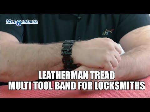 Leatherman Tread Multi Tool Band For Locksmiths | Mr. Locksmith™ Video
