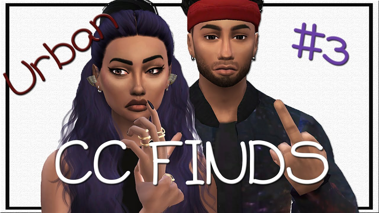 The Sims 4 Urban Cc Finds 3 Male Hair Beats By Dre