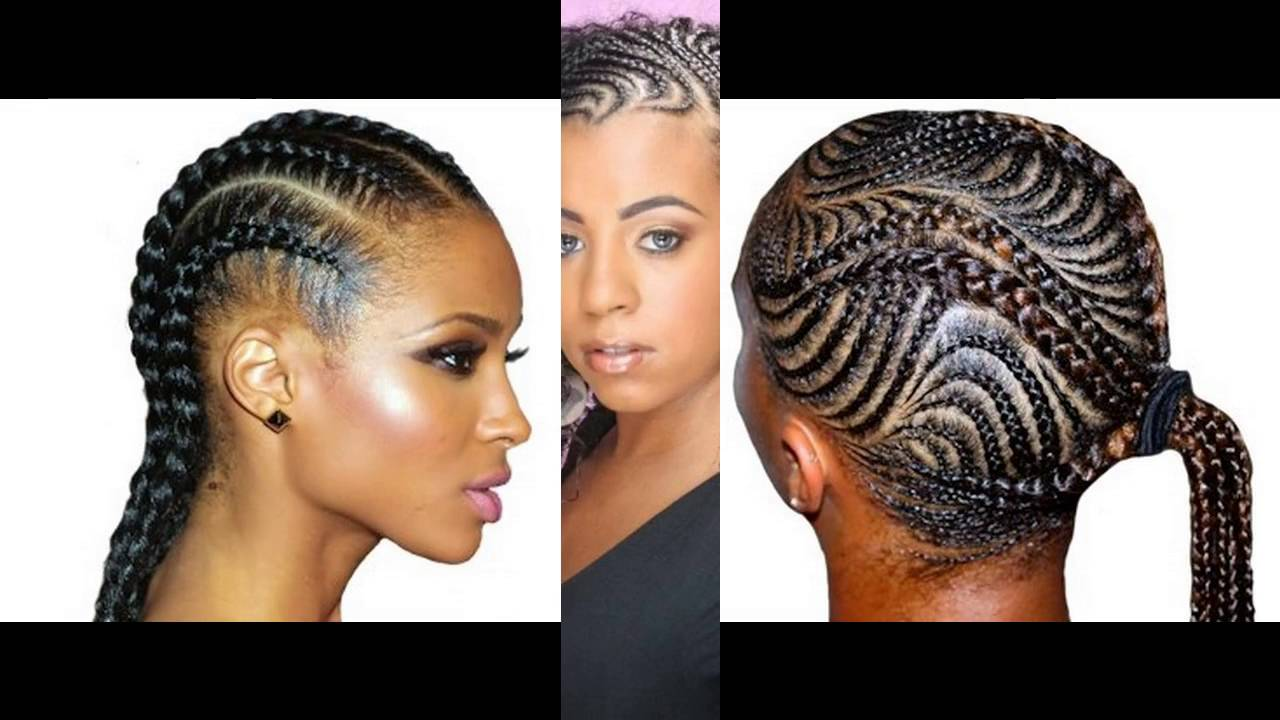 Model De Coiffure Femme Africaine Youtube