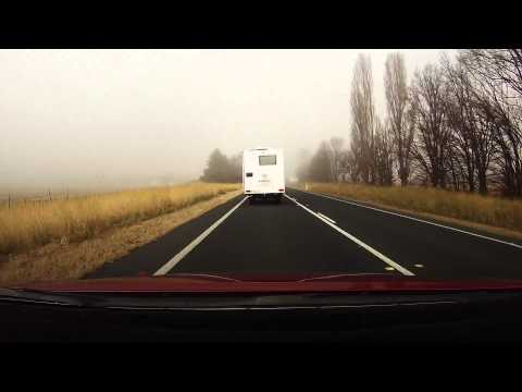 Driving Time Lapse: Canberra to Perisher