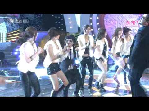 Kim Tae Woo & Kim Shin Young 22  Love Rain Entertainment Awards 2009