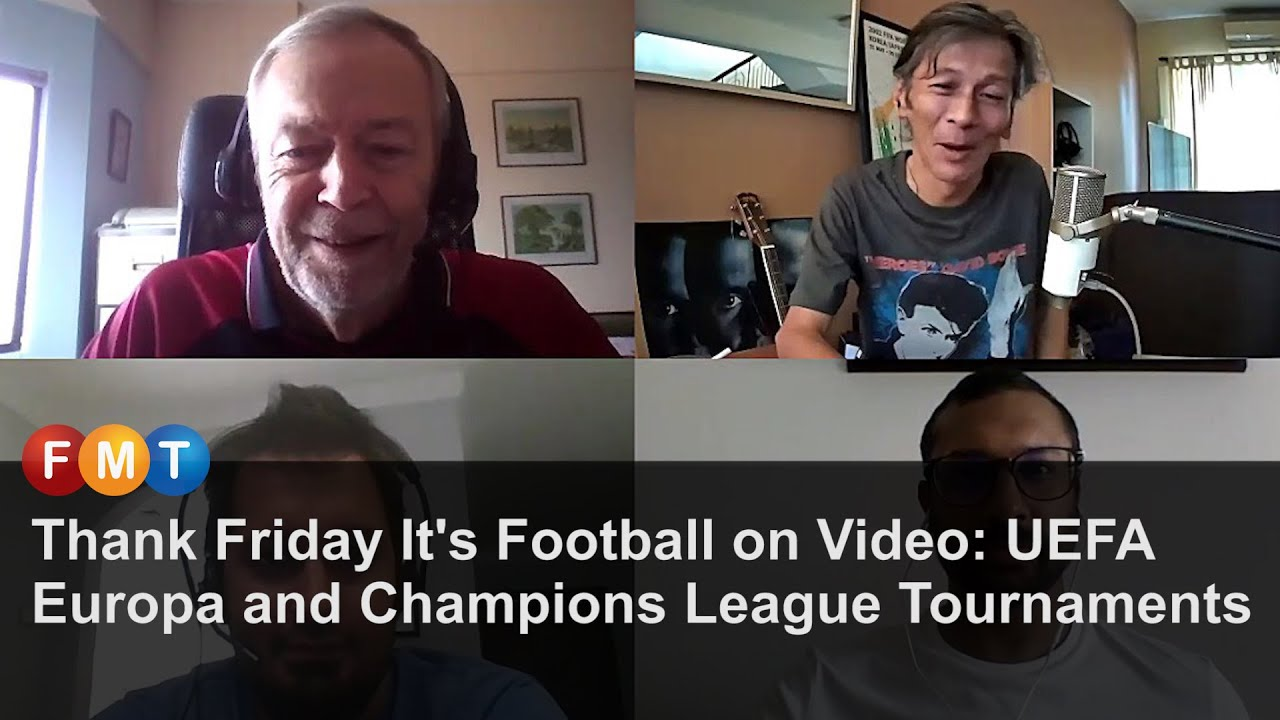 Thank Friday It's Football on Video: UEFA Europa and Champions League Tournaments