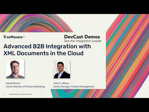 Advanced B2B Integration with XML in the Cloud: DevCast Demo