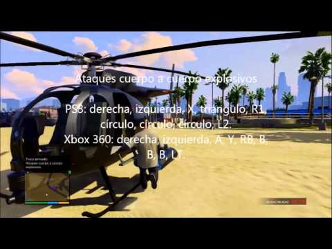 Lista de trucos para Grand theft Auto 5 para PS3 y XBOX 360 - YouTube