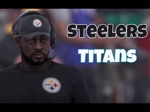Madden 18 Ranked H2H Titans vs Steelers EP:2