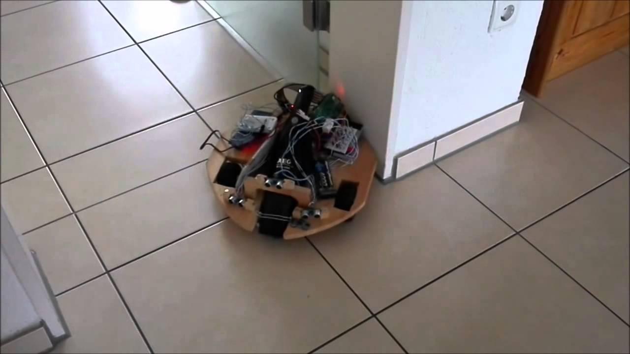 staubsaugroboter mit dem raspberry pi youtube. Black Bedroom Furniture Sets. Home Design Ideas