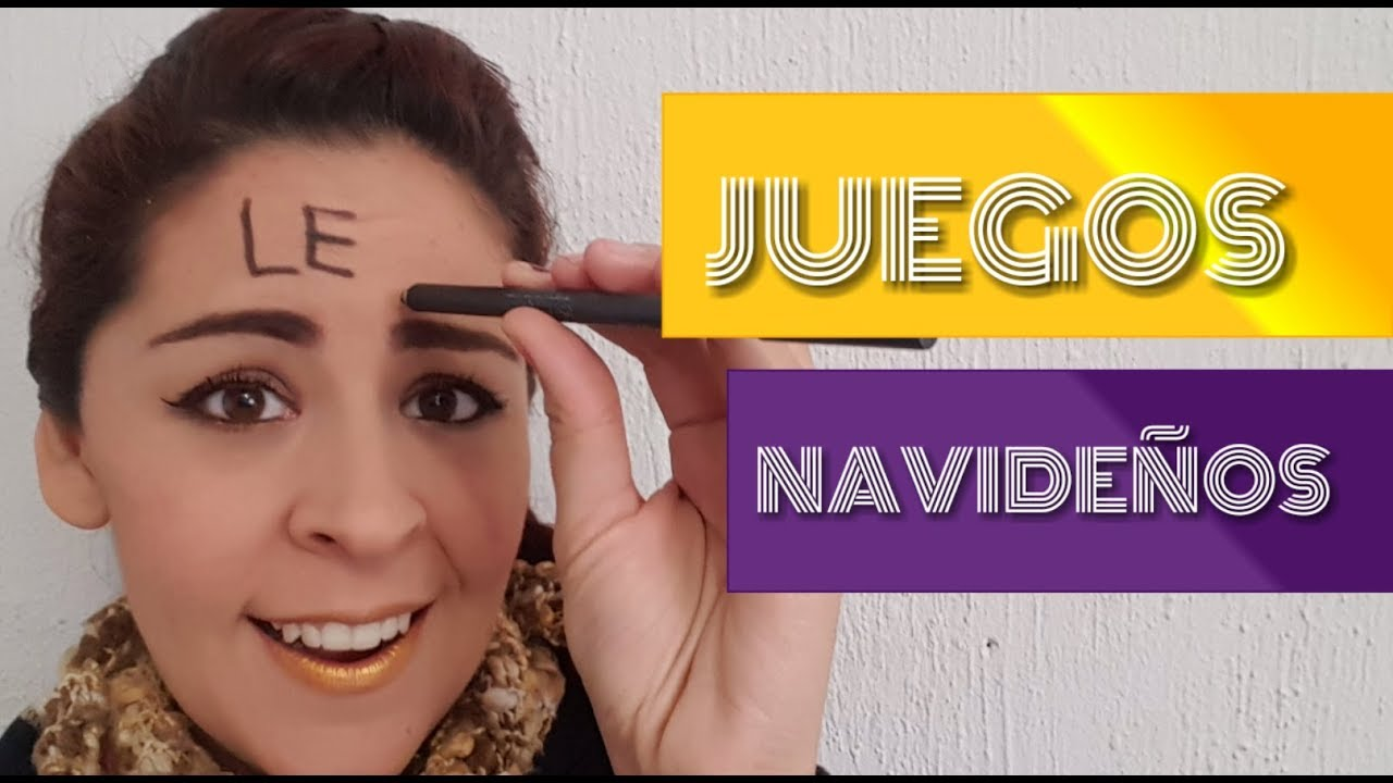 Lob Juegos Navidenos Familiares Super Divertidos Youtube