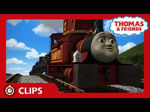 Harvey and His Engine | Clips | Thomas & Friends