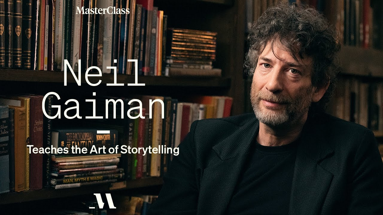 video Neil Gaiman MasterClass Review 2021: Discover The Art Of Storytelling. Is Neil Gaiman's MasterClass Worth It?