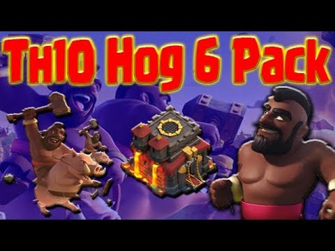 TH10 Hog Rider GoHo 3 STAR ATTACKS | Clash of Clans War Strategy Guide