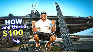 The BEST Fishing Rod EVER for $100?!?! --NEW MF'ER ROD SERIES!!