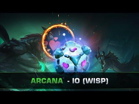 Dota 2 Benevolent Companion - IO (WISP) Arcana