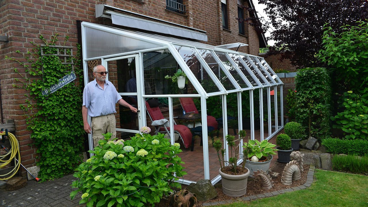 Rion Sun Room 8 Outdoor Solarium Enclosure Youtube