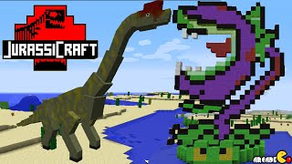 Minecraft Jurassic Park Mod Showcase Plants Vs Zombies 2 Chomper!